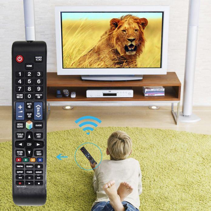 Замена ПУЛЬТ Дистанционного Управления для Samsung LED Телевизоры Новый Пульт Дистанционного Управления Совместимо для UN32EH4500 UN46ES6100F UN32EH5300