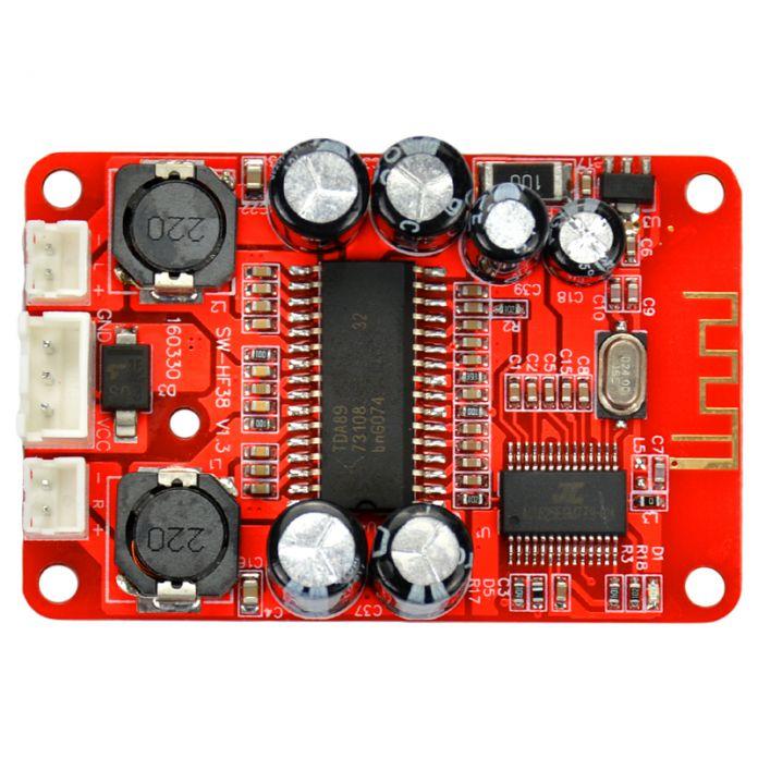 TDA8932 2X15 Вт Двойного канала беспроводной Bluetooth Аудио цифровой усилитель доска Для изменения на потолке bluetooth-динамик