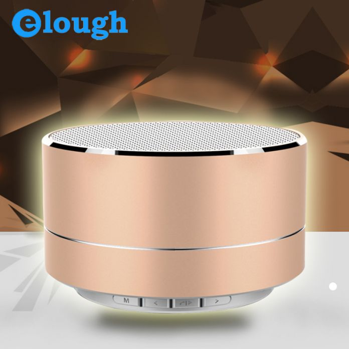 Elough Портативный Беспроводной Bluetooth Спикер USB Музыкальный Центр Автомобилей Вибрации Динамиков Для Мобильного Телефона ПК Portail Беспроводной Altavoz
