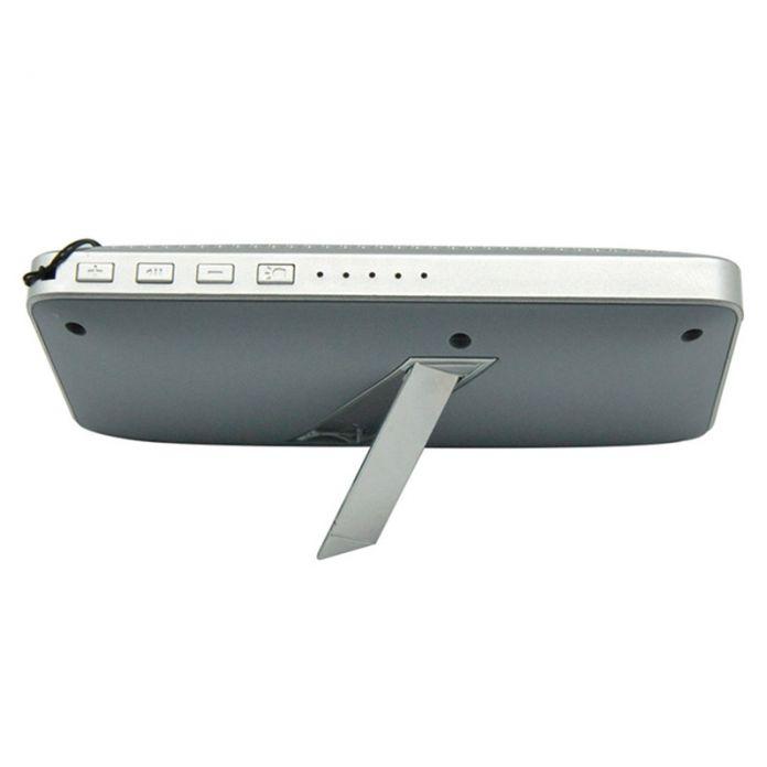 TG02 micro SD TF USB Hifi BT Спикер soundbar со Светодиодной поджог 3000 мАч power bank открытый переносной стерео книжная полка спикер