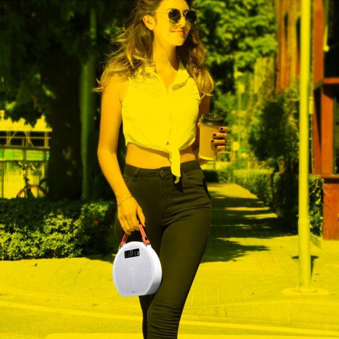 Mifa M9 Портативный Bluetooth Стерео Колонки 4.0 с Power Bank и СВЕТОДИОДНЫЙ Дисплей Домашний Кинотеатр Партии Спикер Звуковая Система 3D стерео