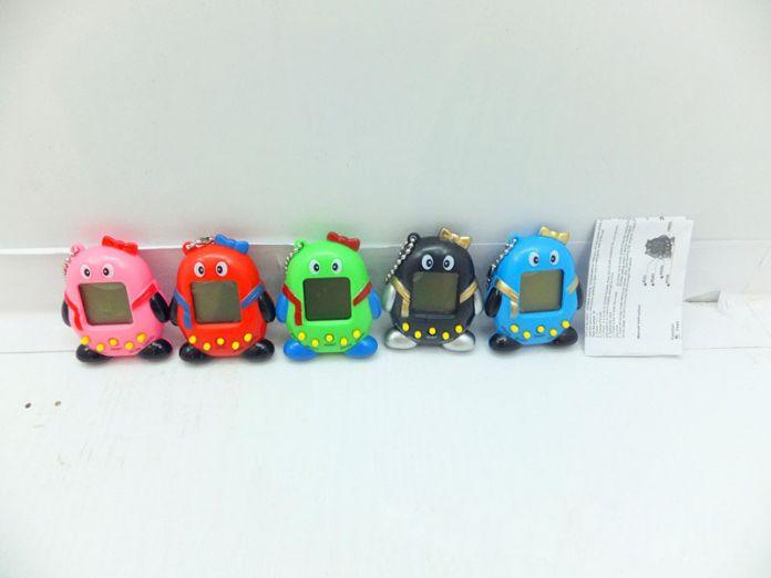 Новейшие весело Тамагочи пэт виртуальный цифровой Penguin168 QQ pet 1 виртуальной сети электронные игрушки Brinquedos детские подарки