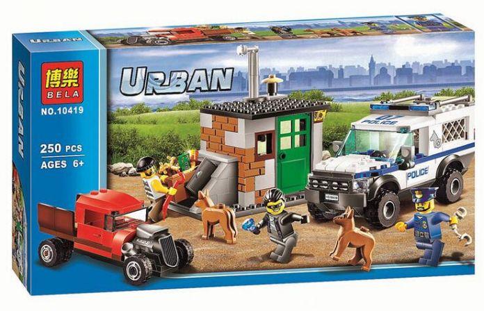 Совместимость Legoed Город Minifigures Блок Полицейская Собака Блок 60045 Строительные Кирпичи БЕЛА 10419 Полицейский Рис Игрушки Для Детей