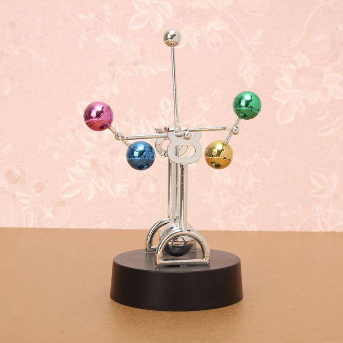 Новый Дизайн Ньютонов Колыбель Fun Космос Вечное Движение Кинетической Игрушка Физика Наука Стол Декор DIY Модель Строительство Комплекты