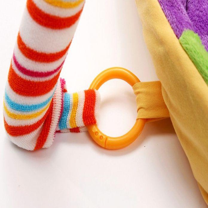 Красочные Детские Playmat Музыкальный Играть коврики С Игрушки Дети Играют Коврик Для Детей Ползать Ковер Tapete Развивающие Игрушки