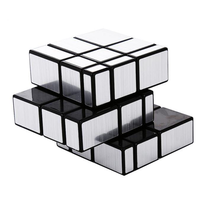ShengShou Magic Cube 3x3x3 Зеркало Блоки Bump Извилистые Puzzle Ультра Гладкий Головоломки Игрушки Новогодние Подарки Снятие Стресса Magic Cube