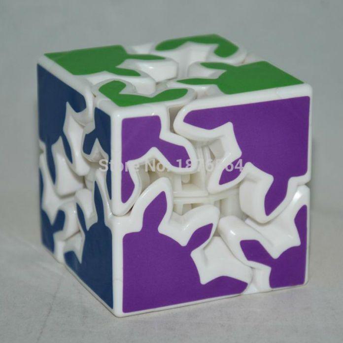 2x2x2 Зубчатых Колес Magic Cube Профессиональные Наклейки Головоломки Игрушка в Подарок Обучающие Головоломки Игрушки