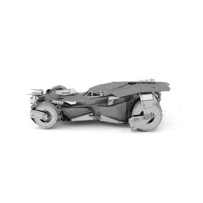 3D Головоломка DIY Сборки Автомобиля Игрушки Правосудия Рассвет Бэтмен Бэтмобиль Металлический Модель Творческий Подарок DIY Образования Детей Игрушки