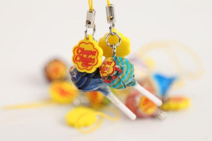 1 шт. Мини CHUPA CHUPS Леденцы Конфеты Ключ Chain.4cm. Вкус Массовая Леденцы Банку Игрушка. Веселые Развивающие игрушки
