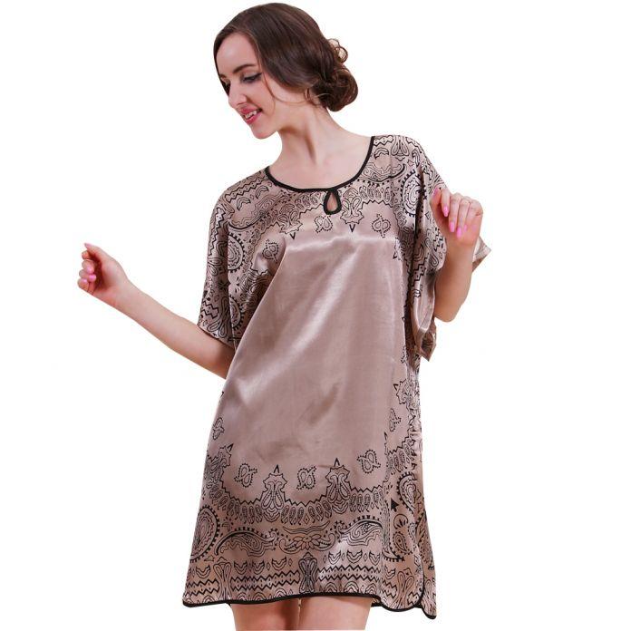 2015 Топ Мода Лето Стиль Банный Халат Longue Пижамы Для Женщин Плюс Размер Повседневная Платье Ночная Рубашка 10107