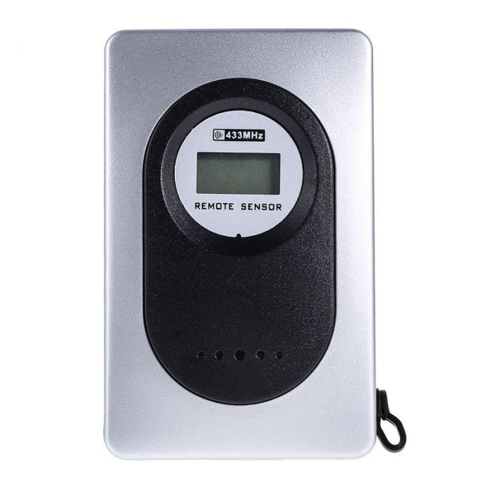 433 МГц Метеостанции Будильник Беспроводной Цифровой Термометр Гигрометр Бесплатная Доставка