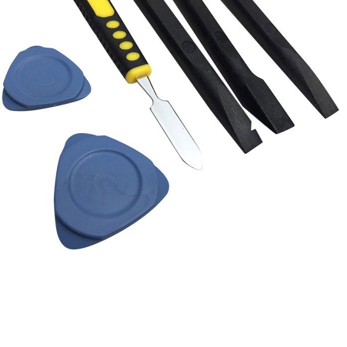 8 в 1 Разберите Набор Инструментов Ремонта Сверхтвердых Углеродного Волокна Рука Набор инструментов Для iPhone iPad Samsung HTC Ручной Инструмент Комплект TA0009