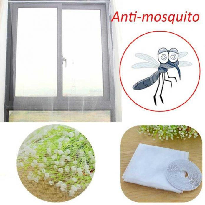 150*130 см Большие Окна Москитная сетка Белый Anti Mosquito Ошибка Насекомых Чистая Занавес Окна