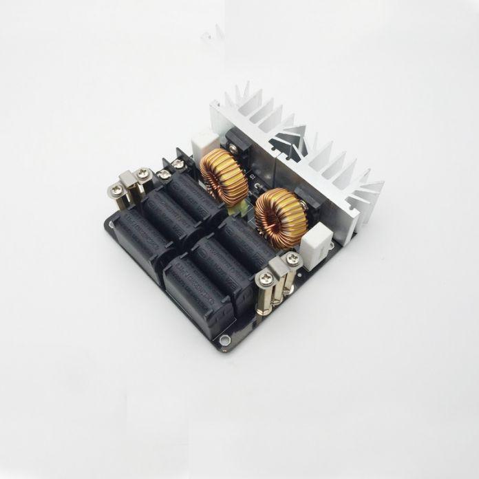 1000 Вт ЗВС Низкого Напряжения Индукционного Нагрева Модуль Доска/Тесла Вуаль + катушка 12 В-48 В