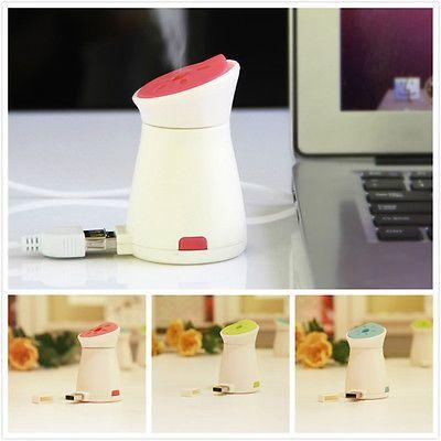 Мини USB Увлажнитель Портативный Увлажнитель-Очиститель Воздуха Арома Диффузор для Office Для Дома Автомобиля