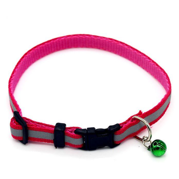 6 цвета собака кошка тягового каната цепи воротник собак pet поводок телескопический ошейник колокола pet products