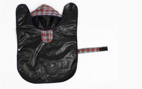Pet Одежда Одежда Для Собак Собака Плащ Pet Куртка Светоотражающие Дождь Pet Водонепроницаемый Пальто Плед Собака Пончо Плюшевый Плащ S/M/L/XL