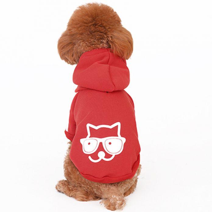 HOOPET Новый Зимней Моды Животное Свитер Три Цвета Опции Отдыха Прекрасные Узоры Теплый Плюшевый Собака Облачаются