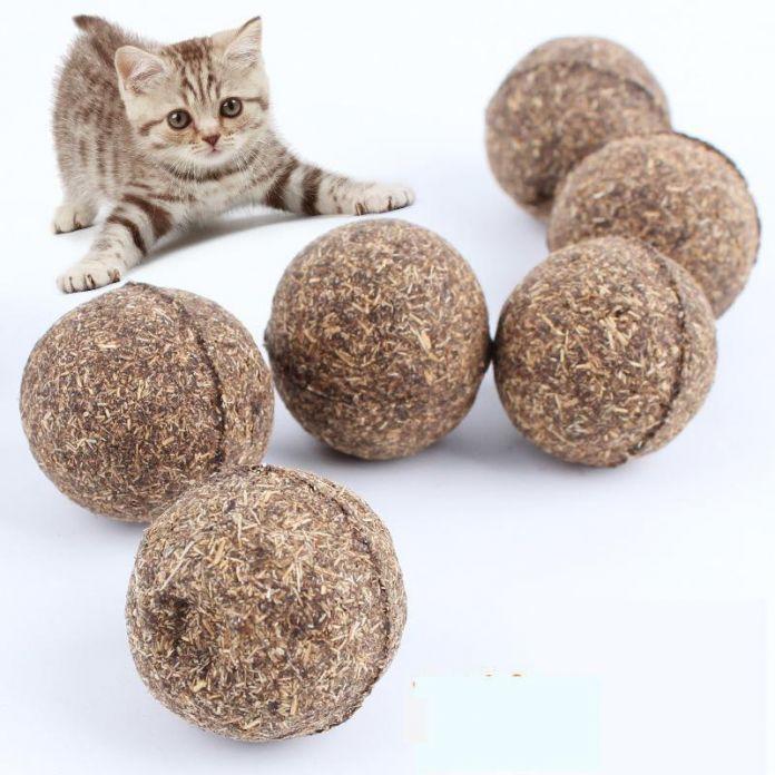 Игрушка кот Природных Котенок Мяч, ментол Вкус, кошка Лечит, 100% Съедобны Кошки-go-сумасшедший Лечит