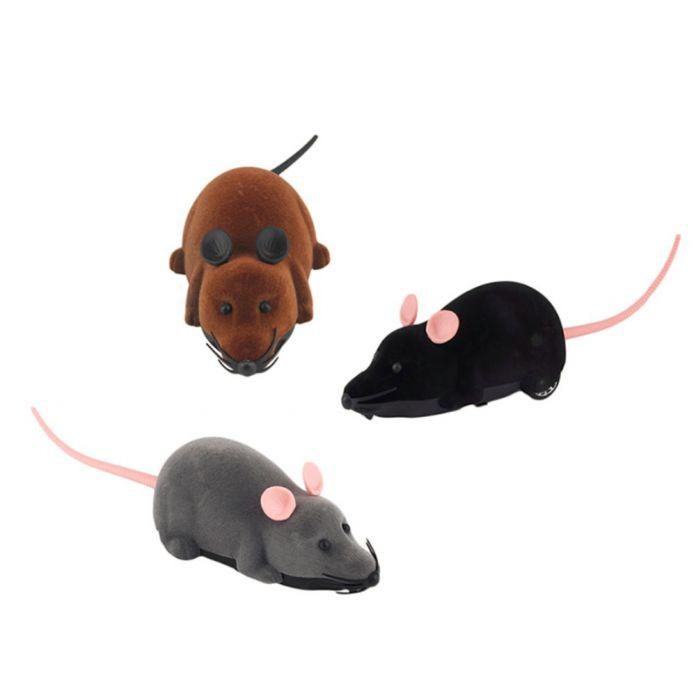 Новые стили Funny Cat Игрушки Для Собак Дистанционного Управления Моделирование Мыши Детские Игрушки Уши Случайный Цвет