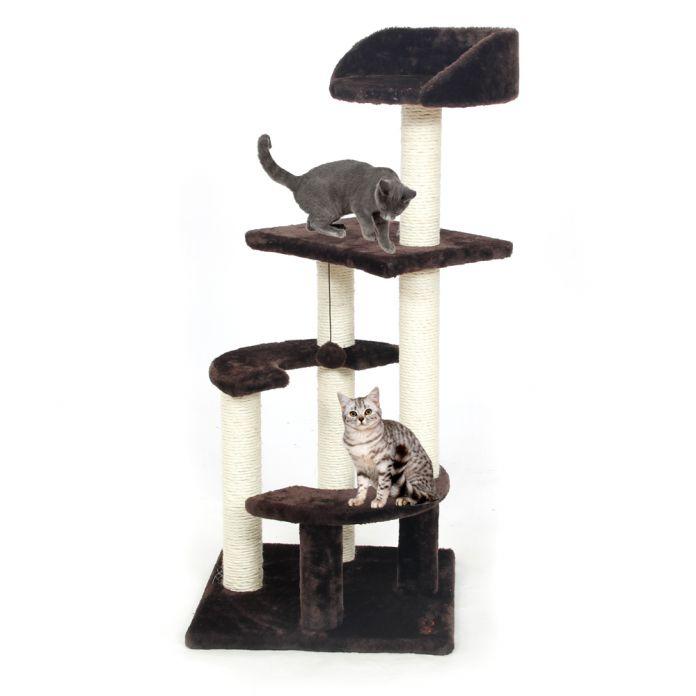 Внутренние Поставки Игрушка Кошка Царапин Дерево Восхождение Дерево Кошка Прыгает Игрушки с Лестницы Лазалки Кошка Мебель Когтеточка