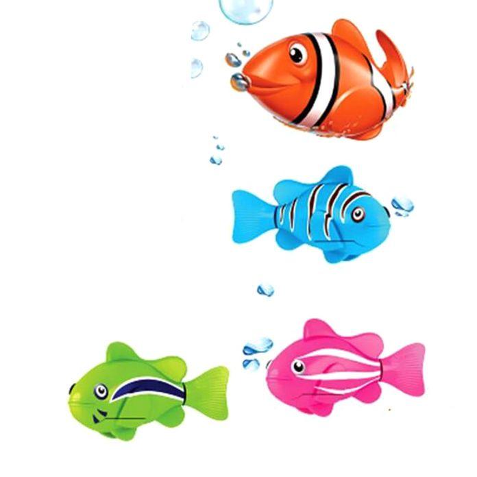 2016 Robofish Активированный Батарейках Robo Рыба Игрушки Рыба Роботизированная Рыба Аквариум Украшения Украшения