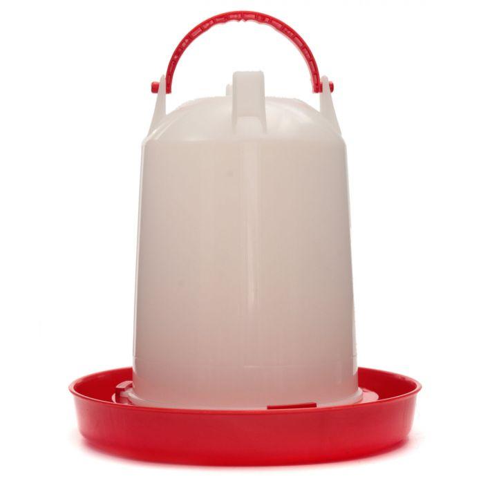 Горячие Продажи Три Типа Белый и Красный Пластиковый Цыпленок Птенцов Курица Птица Пьющий Waterer С Ручкой Высокого Качества