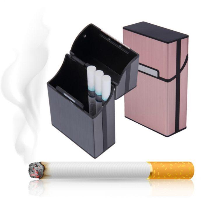 1 шт. Свет Алюминий Сигары Портсигар Табак Держатель Карманный Box Контейнер Новый