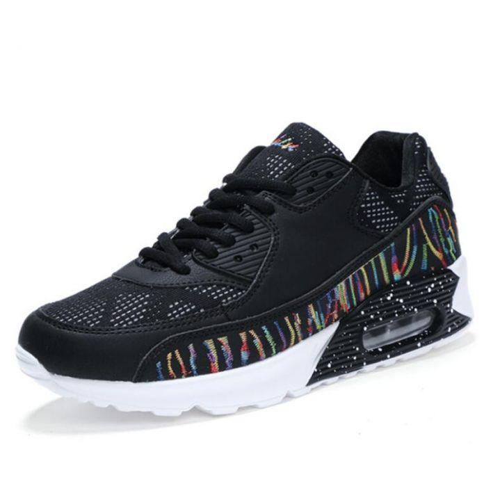 2017 Новый дизайн мужчины кроссовки спортивные shoes воздухопроницаемой Сеткой кроссовки Теннис shoes для мужчин 39-44