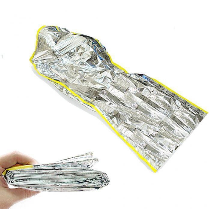 ELOS-Прочный Спальный мешок, Матрац Мат Pad Водонепроницаемый Подушка Серебряная Фольга Открытый Мат Кемпинг Алюминиевая Фольга Отдых На Природе Спальный Мешок