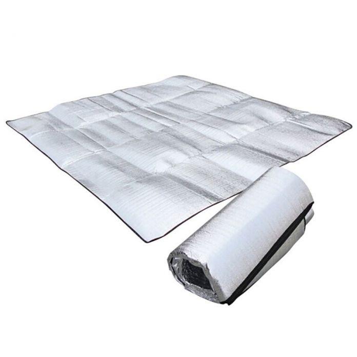 Складной Складной Спальный Матрас Мат Pad Водонепроницаемый Алюминиевая Фольга EVA Открытый Мат Кемпинг Надувной Матрас