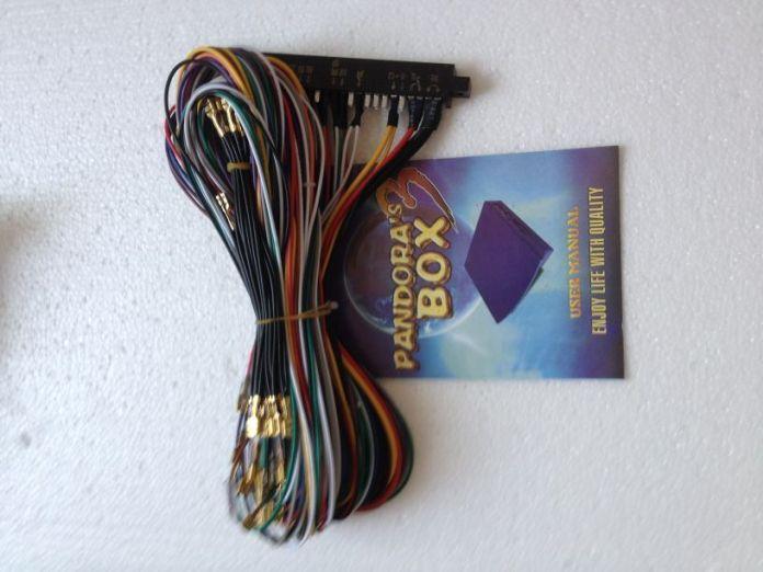Новое Прибытие HD Pandora Box 3 Джамма Нескольких Игровое поле 520 в 1 Печатной Платы + 28 P wireCasino Jamma Аркада 2 Игроков multi game pcb VGA