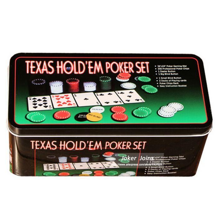 супер дело! Бесплатная Доставка 200 штук покер фишки + 2 карты покер + 1 Dealer + 2 Blinds + 1 блекджек скатерти - С коробкой - набор для покера - фишки для покера - покер фишки - фишки покер - семейные настольные игры
