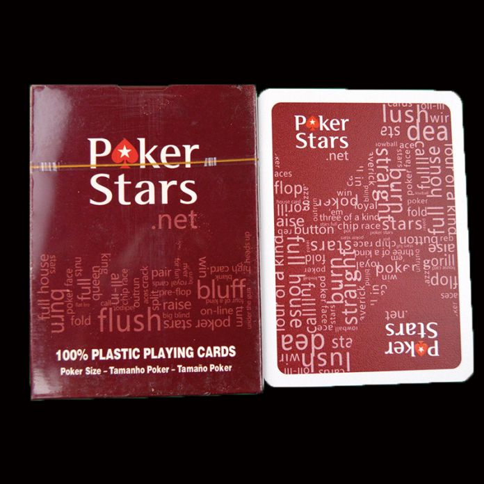 Бесплатная Доставка Пластиковые Игральные Карты Техасский Покер Карты Водонепроницаемый И Скучный Польский Покер Звезда Zakka Настольные Игры Черный Цвет & красный