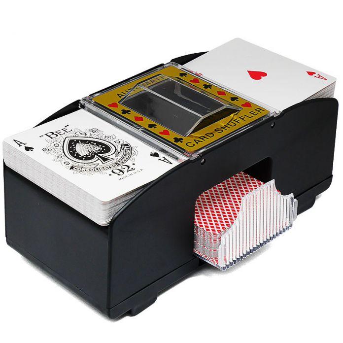 Передовые Казино Робот Новый 1-2 Палубы 1-4 палубы Перетасовка Игральные карты Покер Shuffler Card Shuffler машина устройства