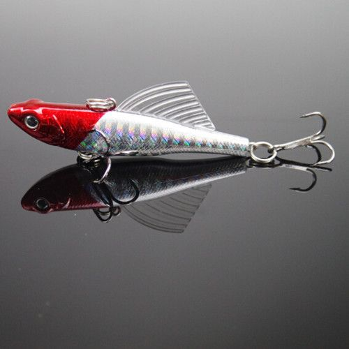 10 г 5.5 см 1 шт. зимняя рыбалка приманки жесткий приманки VIB со свинцом внутри рыбы привести льда море рыболовные снасти джиг воблер поворотный приманку