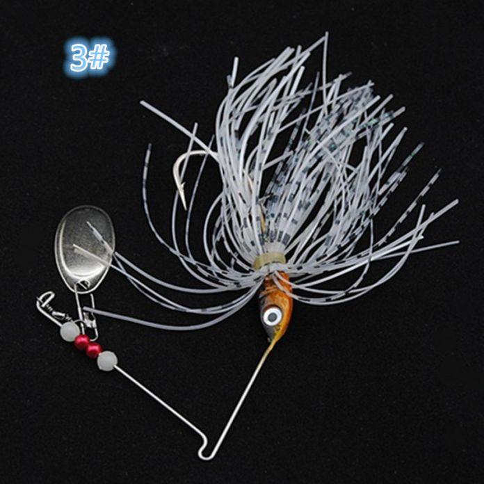1 шт. spinner приманки 15 Г металла приманки жесткие приманки рыбалка Spinner Приманки Спинербейт Пайк поворотный Рыболовный снасти воблер бесплатная доставка