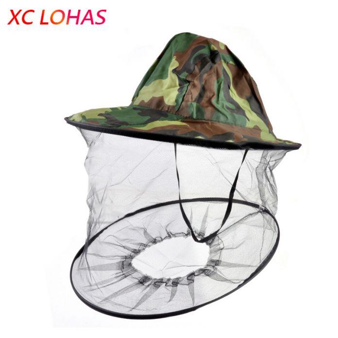 Модная мужская и женская шляпа с москитной сеткой, защитный накомарник от насекомых для отдыха на природе, шляпа с защитной сеткой для лица