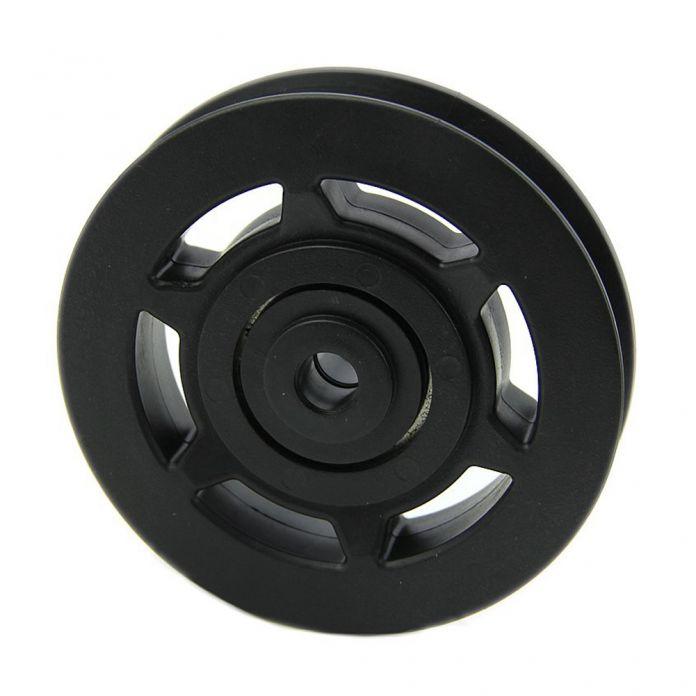 JHO-95mm Черный Подшипник Шкива Колеса Кабель Тренажеры Часть Износостойких