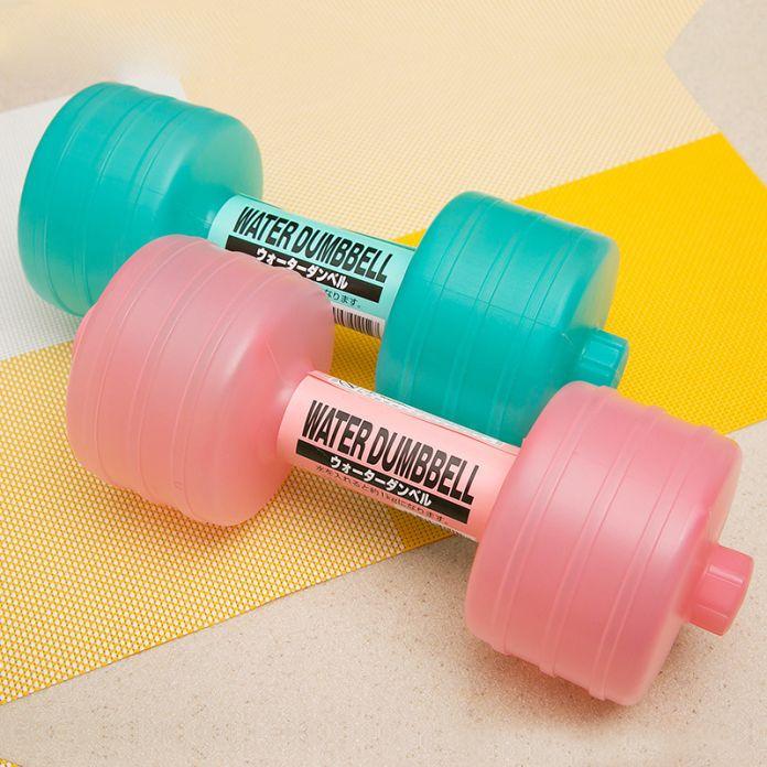 MS тренажеры для похудения тело Установить воды гантели фитнес гантели handweights немой колокол