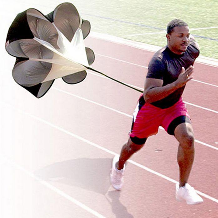 Многофункциональный тренажеры Скорость Тренировки на Сопротивление Парашютом Зонт Футбол Футбол Бег Парашют Мощный Инструмент Обучения