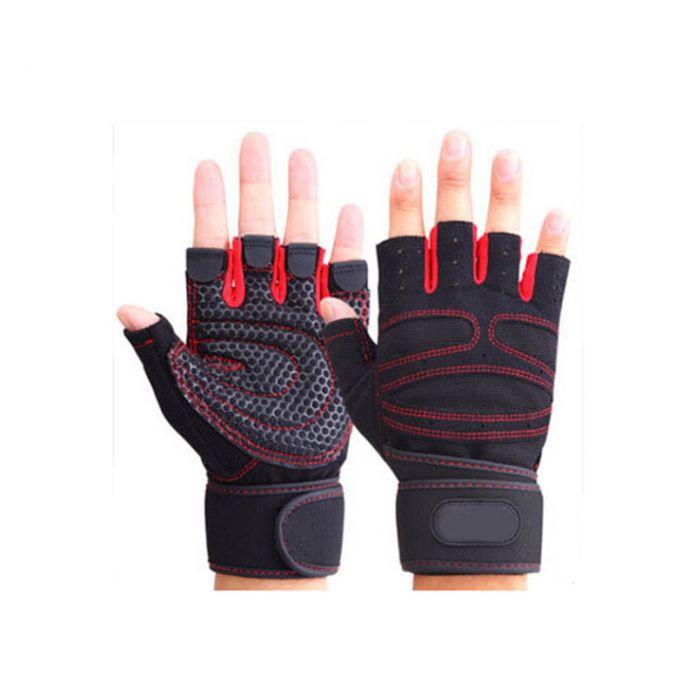 Высокое качество женщины / мужчины тренажерный зал перчатки бодибилдинг обучение спортивные тренажеры перчатки тяжелая атлетика перчатки мужские перчатки женщин