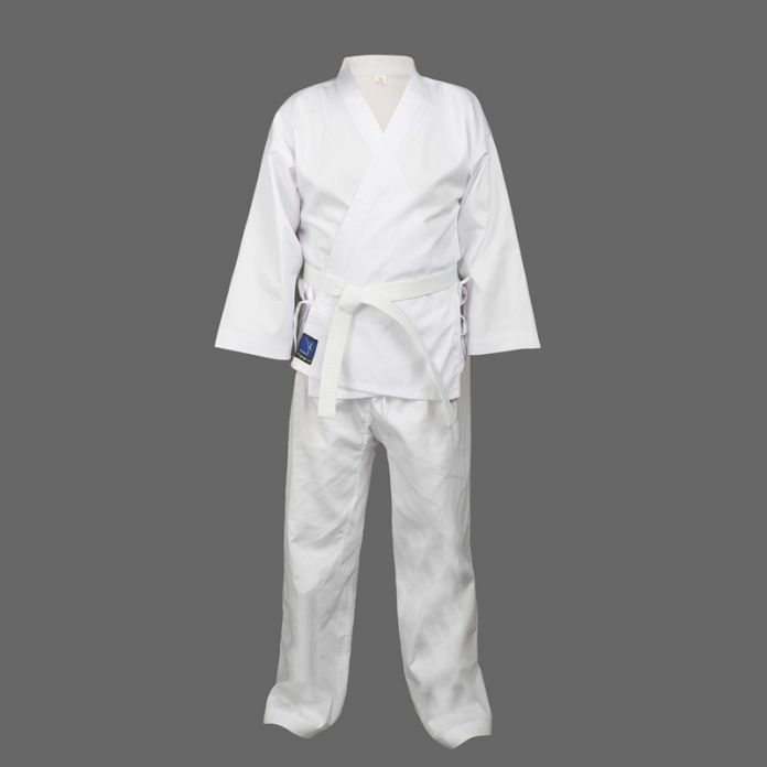 Качество ребенок взрослый каратэ равномерной костюм WTF Добок Таэквондо kick boxing MMA боевые искусства одежда добок 55% хлопок кимоно