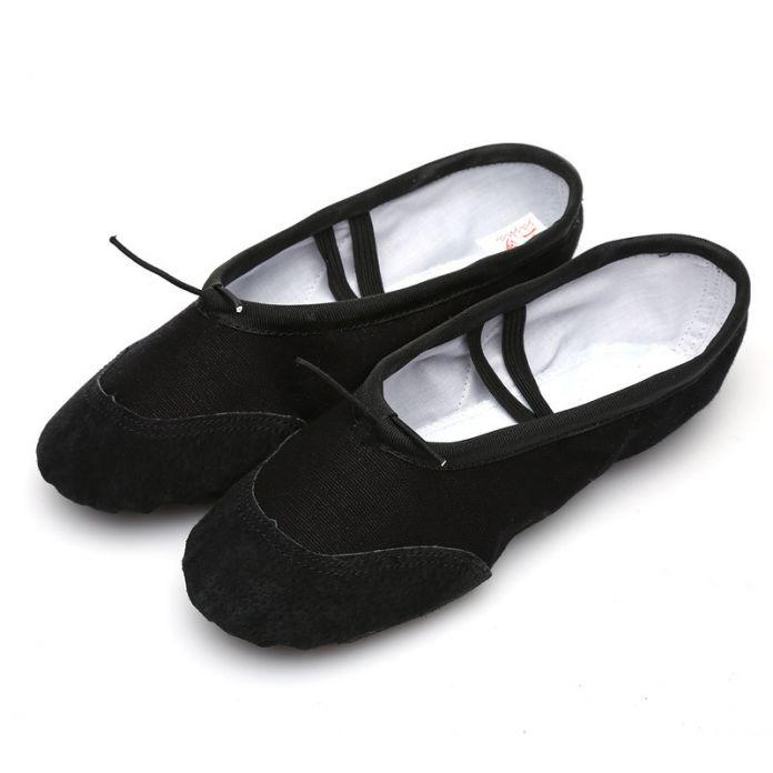 Высокое Качество девушки Женщин кроссовки Холст Мягкие Балета/Yoga Танцевальная Обувь Белый/Черный/Красный/розовый Оптовая бесплатная доставка