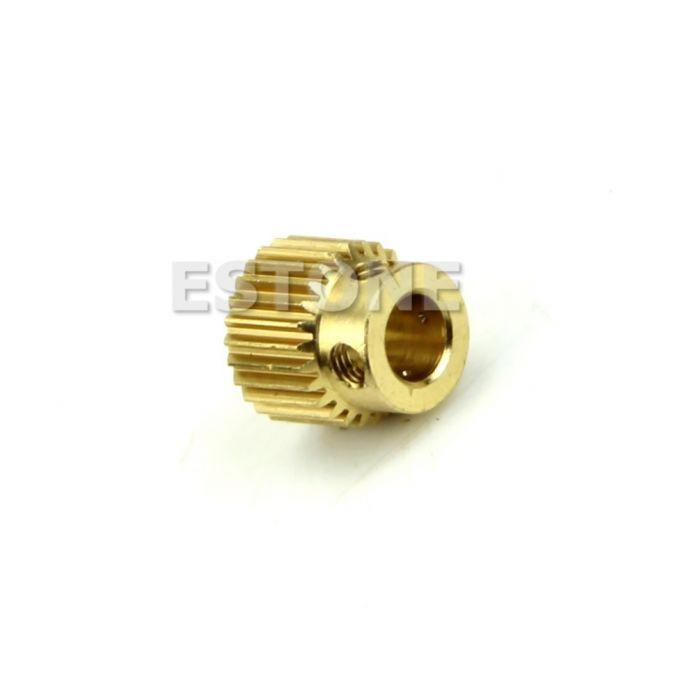 26 Т MK8 Принтер Меди 26 зубчатая передача 11 мм х 11 мм Для DIY Новый 3D Принтер Экструдер