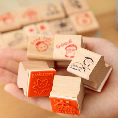Бесплатная доставка деревянный штамп печать мультфильм детский сад медсестра школьный учитель отзывы