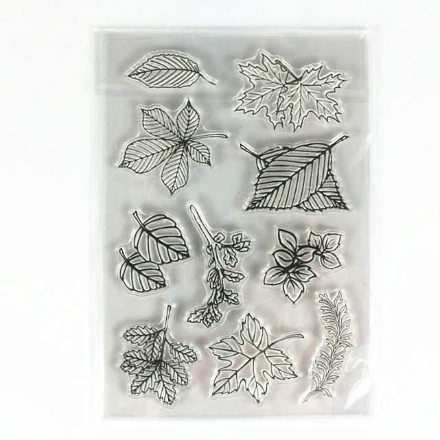 Смешные симпатичные Ясно Штамп бабочка би листьев Дизайн Прозрачный силикагель Печать DIY скрапбукинга/подарочные карты штамп