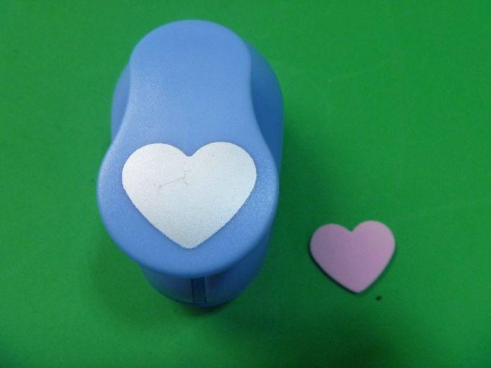 2-2.5 см В форме Сердца пены EVA удар бумаги удар для поздравительной открытки ручной работы, записки Ручной перфоратор бесплатная доставка