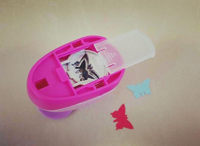 2-2.5 см Бабочка форме пены EVA удар бумаги удар для поздравительной открытки ручной работы, записки Ручной перфоратор бесплатная доставка