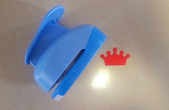 2-2.5 см корона форма пены EVA ремесло удар бумаги удар резак для поздравительной открытки ручной работы, записки diy перфоратор бесплатная доставка